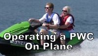 Operating a PWC on Plane